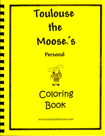 Toulouse COLORING BOOK
